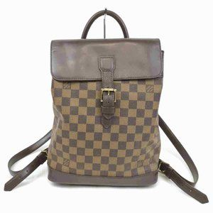 Auth Louis Vuitton Soho Backpack Brown #7105L69